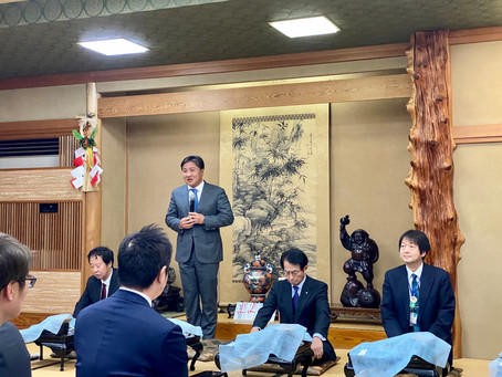 『亀田商工会議所青年部 新年会』に出席させていただきました