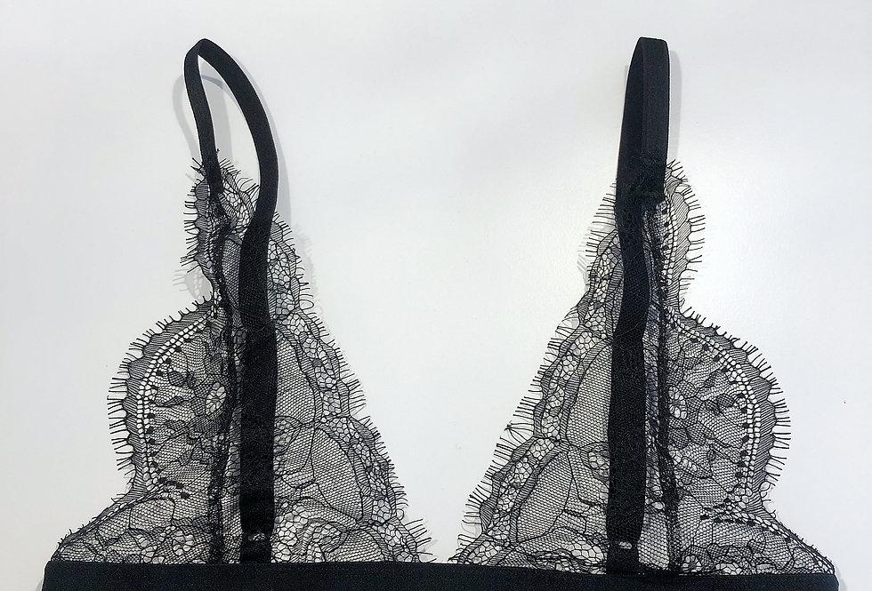 Bralette Black lace