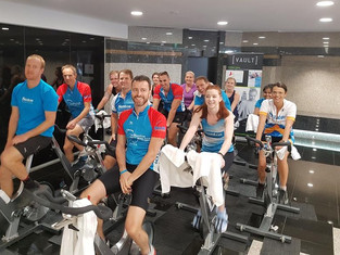 charity spin event St Martins Tower