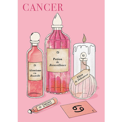 POTIONS CANCER - CARTE POSTALE