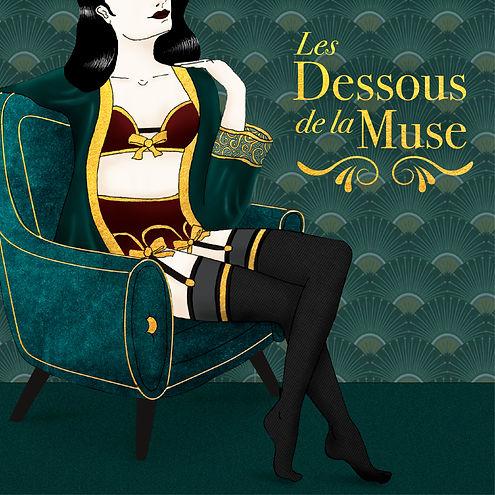 PODCAST LES DESSOUS DE LA MUSE ILLUSTRAT