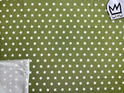 Jersey Sterne Grün