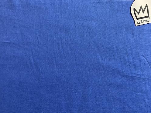 Baumwolle Uni Blau (Voile)