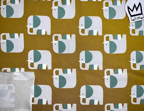 Jersey Elefanten Senfgelb