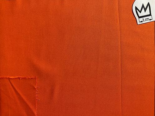 Baumwolle Uni Orange (Cretonne)