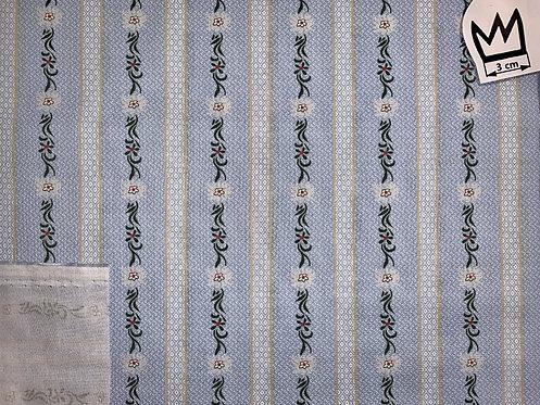 Baumwolle Edelweiss blau