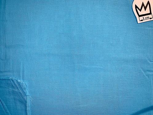 Baumwolle Uni Hellblau (Voile)