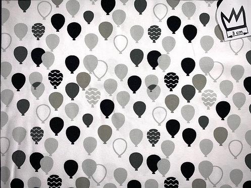 Jersey Ballon Schwarz Grau