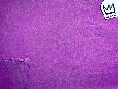Baumwolle Uni Violett (Voile)