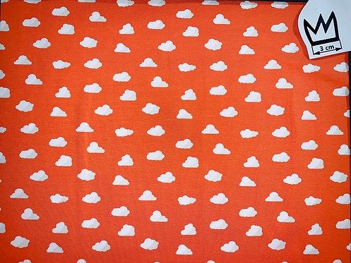 Jersey Wolken Orange