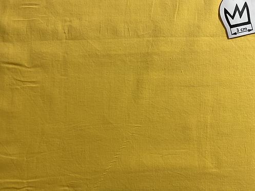 Baumwolle Uni Gelb (Voile)