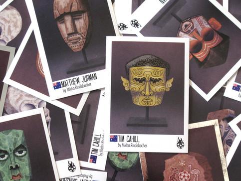 Maskenporträts