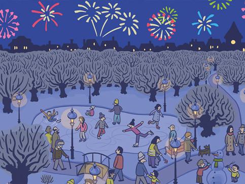 IGSU Neujahrskarte