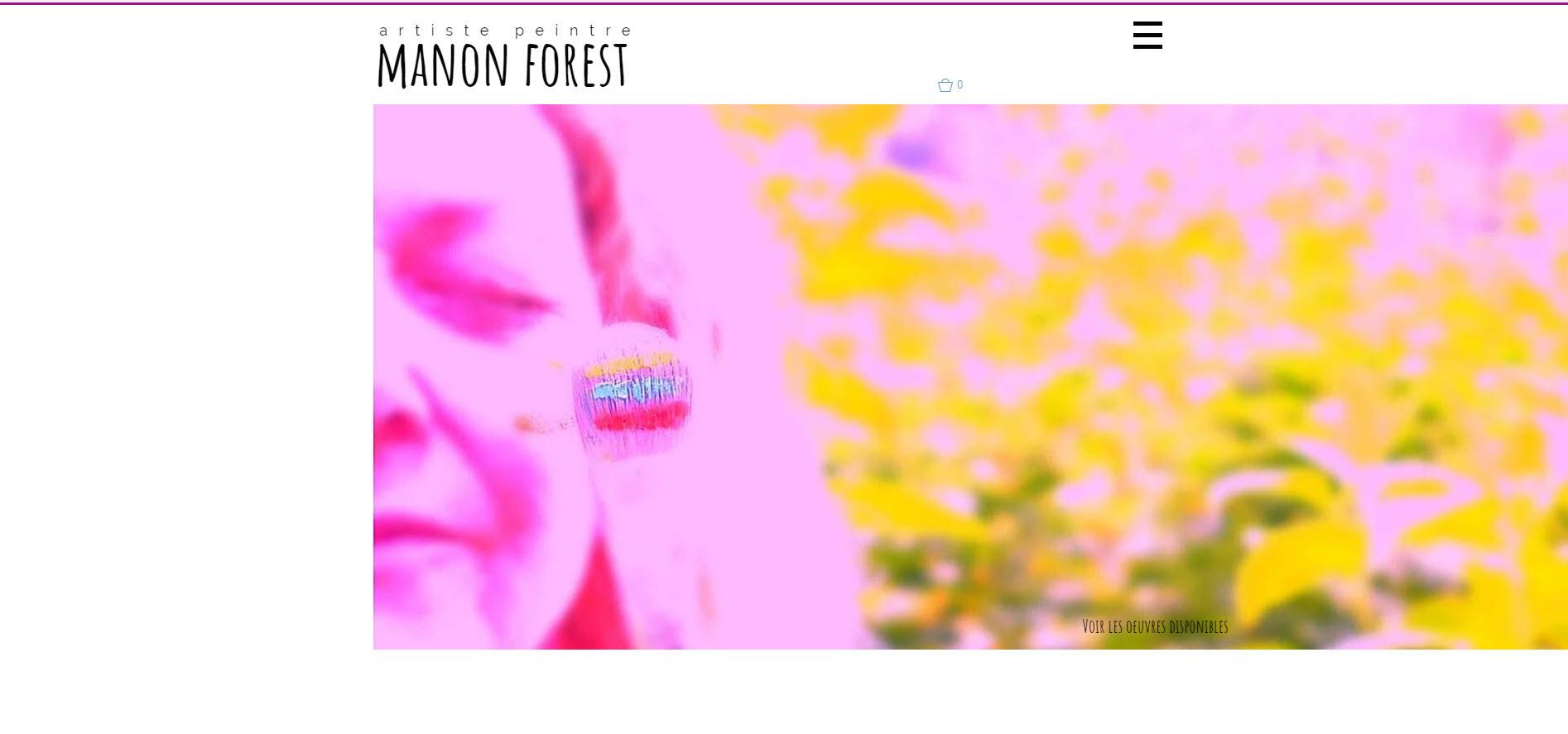 Manon Forest artiste peintre
