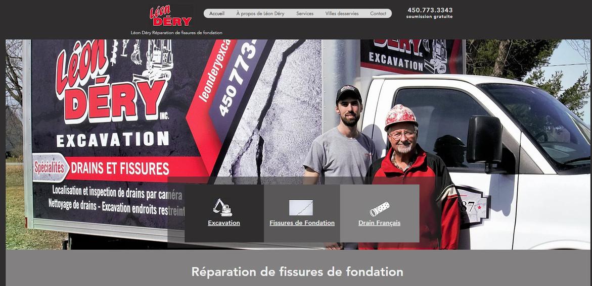 Léon Déry Excavation