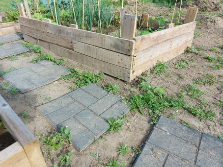 Maintenance during garden season