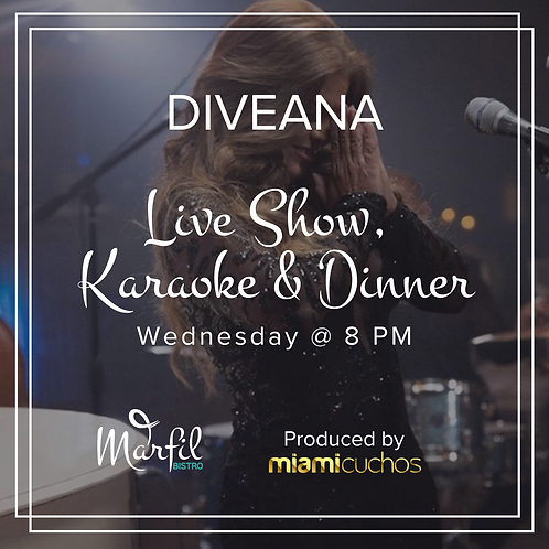 Live Show, Karaoke & Dinner. Includes Appetizer, Entrée And Glass Of Wine/Beer