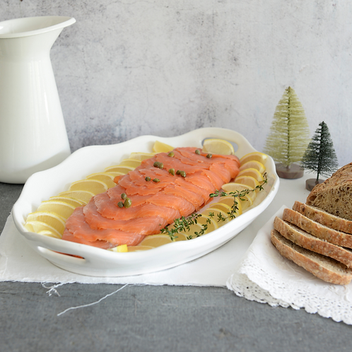 Smoked Salmon, Cream Cheese And Whole Wheat