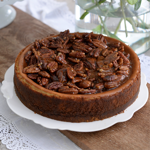 Cheesecake pecan pie (6 to 8 servings)