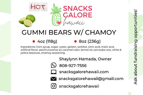 Gummi Bears with Chamoy
