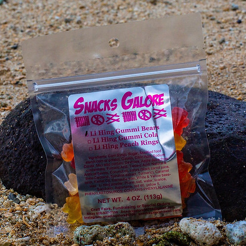 Li Hing Gummi Bears