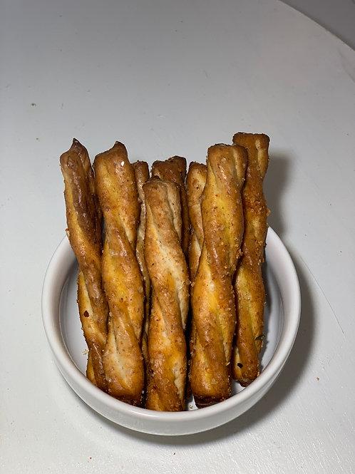 Honey Sriracha Pretzel Sticks