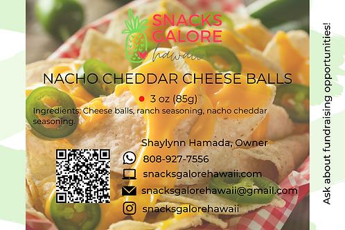 Nacho Cheddar Cheese Balls