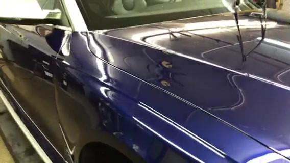 Audi Getting Ceramic Coating