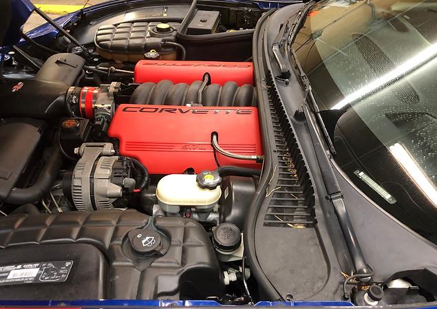 Metro Detroit Auto Detailing Engine Deta
