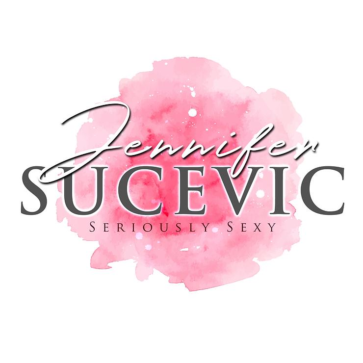 Jennifer Sucevic Logo with tagline (whit