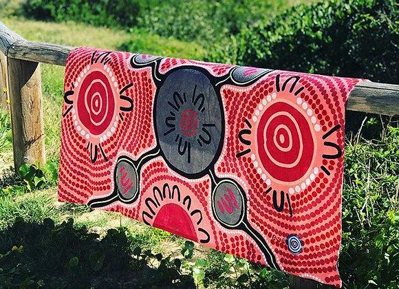 Women's Empowerment beach towel