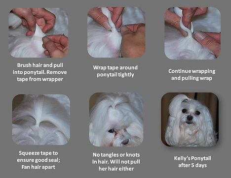Painless Hair Wraps removal