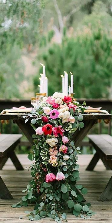 deco de table ton vert et rose.jpg