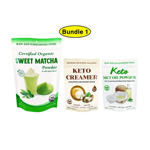 Sweet Matcha + Keto Bundle