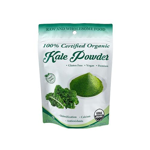 4 oz Organic Kale Powder Front View