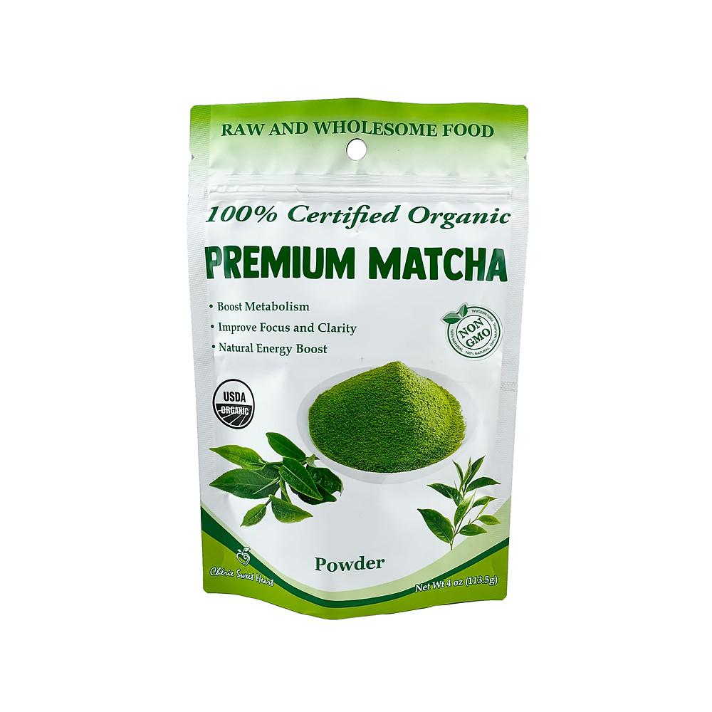 Chérie Sweet Heart's Organic Matcha Powder