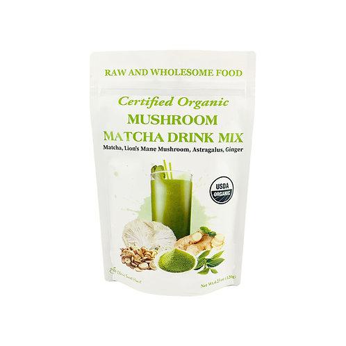 Mushroom Matcha Drink Mix
