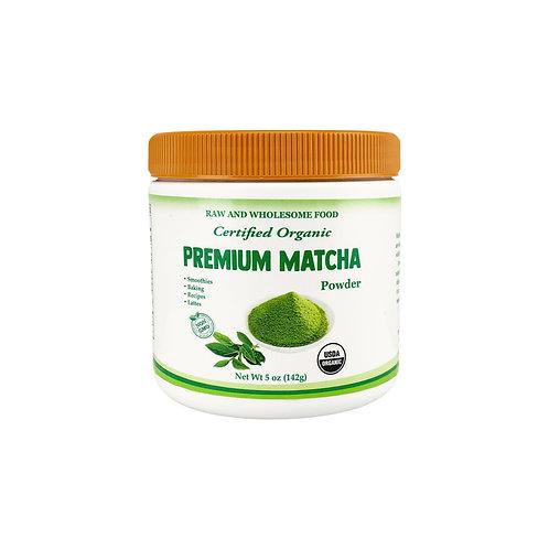 Organic Premium Matcha Powder Canister