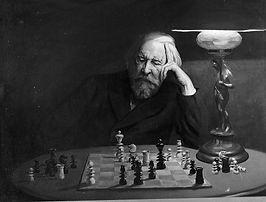 GILL Charles (1871 – 1918)  Problème d'é