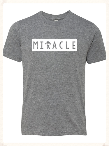 Miracle Youth Tee (Grey)