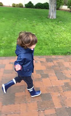 Jojo Maman Bebe Coat & Boots