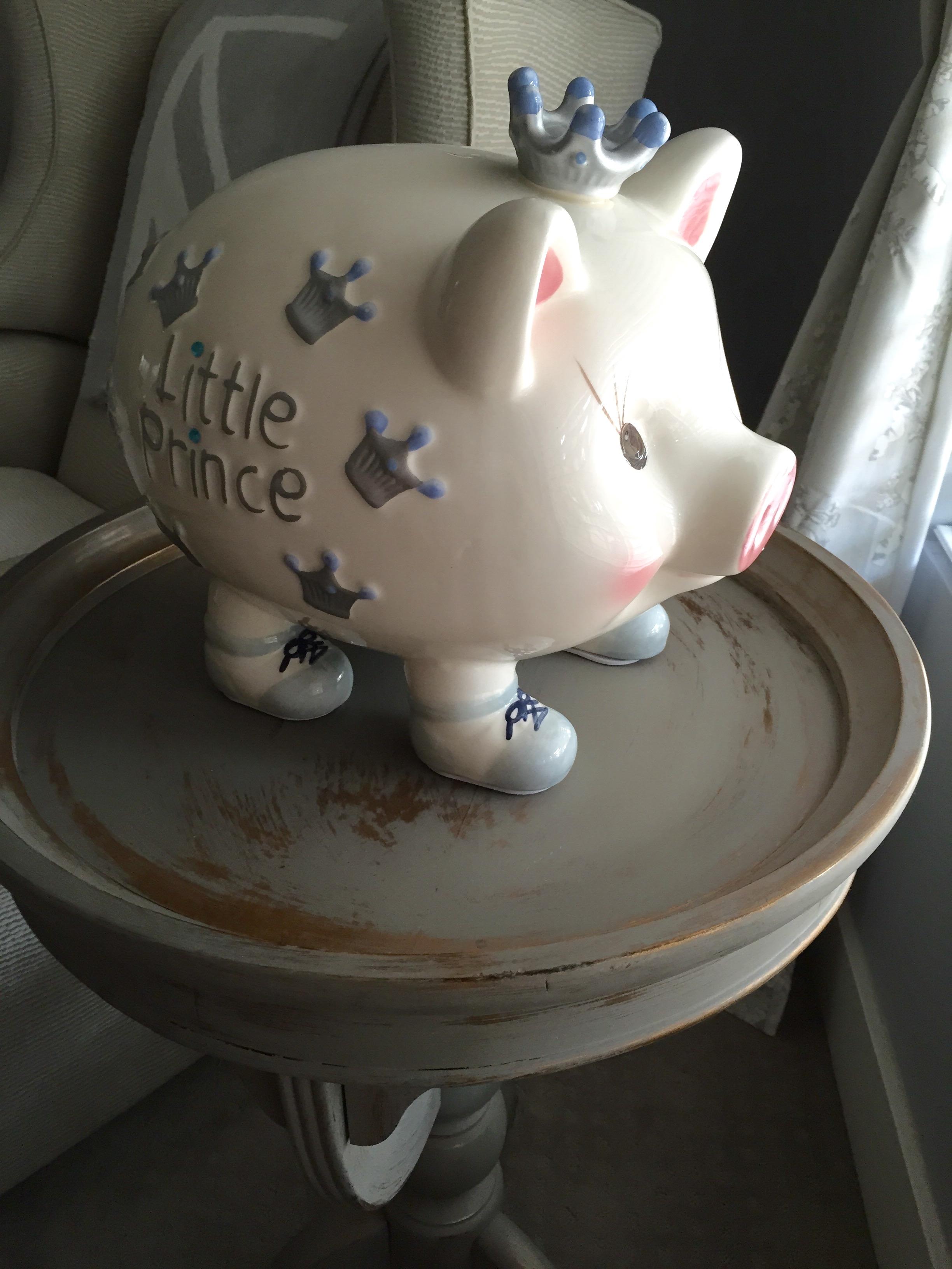 Mud Pie Giant Piggy Bank