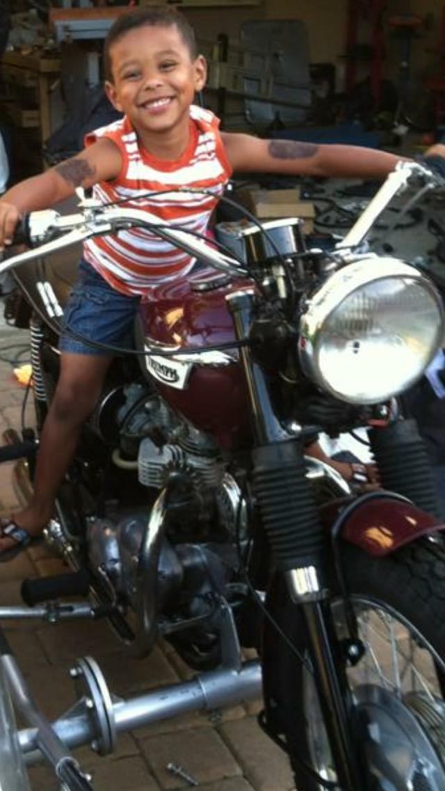 Born to ride.