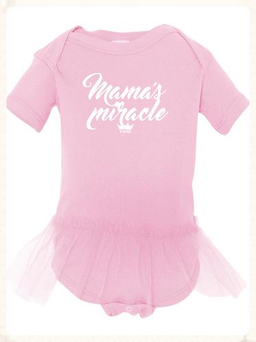 Mama's Miracle Tutu Onesie