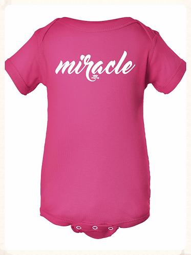 Miracle Onesie (Hot Pink)