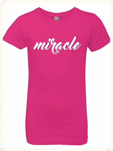 Miracle Youth Princess Tee (Raspberry)