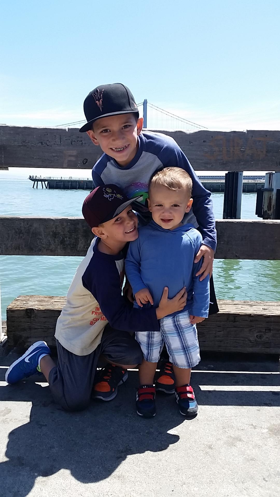 My three boys.