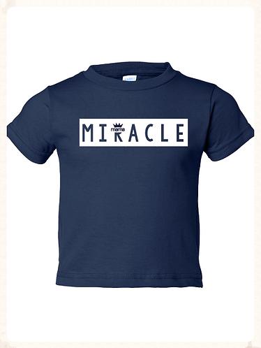 Miracle Toddler Tee (Navy)