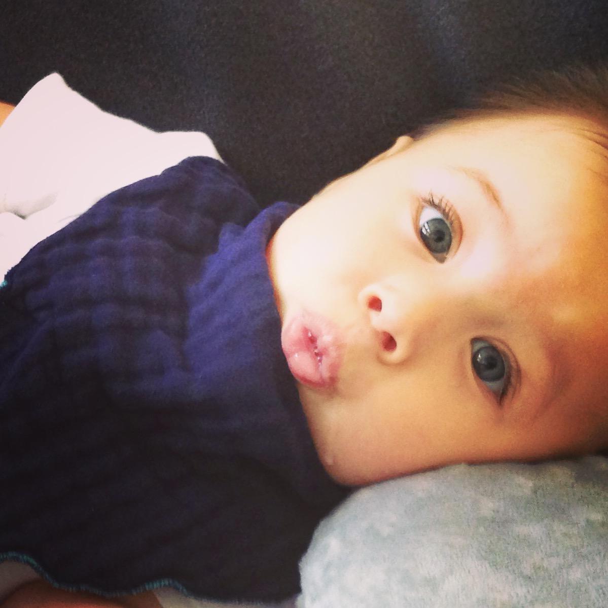 Poncho Baby Bandana Bib