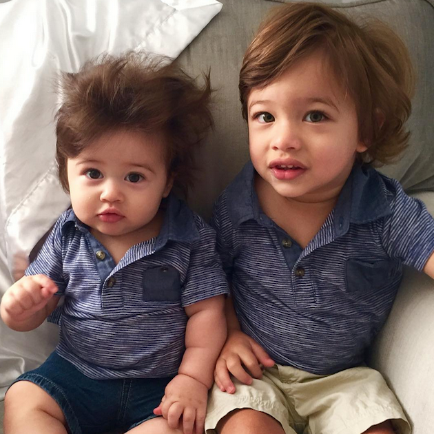 Kardashion Kids Matching Polos